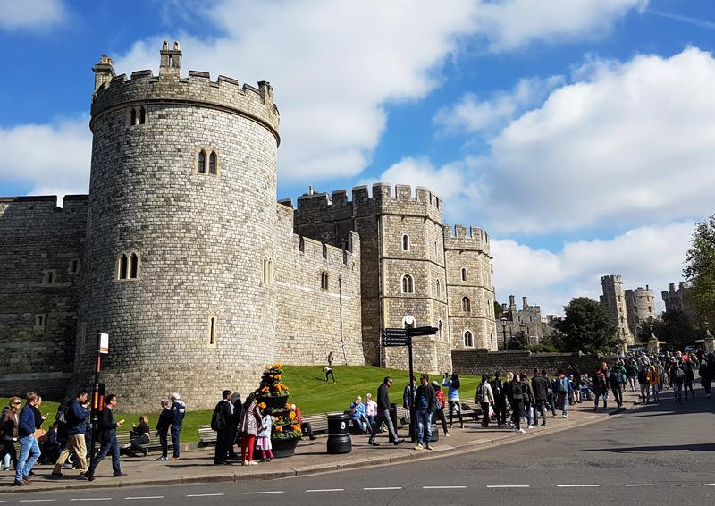 Windsor Castle in Windsor, England