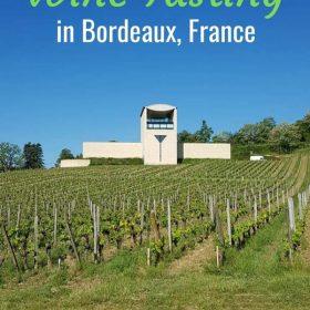 Where to go wine tasting in Bordeaux, France