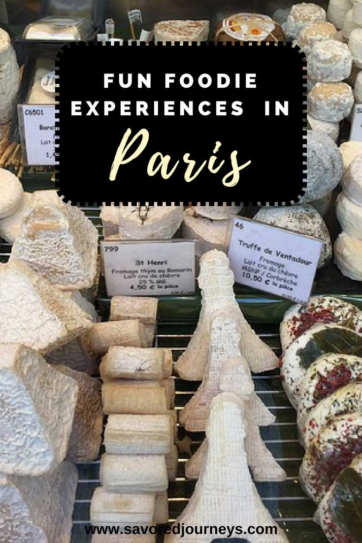 Check out these fun foodie things to do in Paris and add a few of them to your itinerary