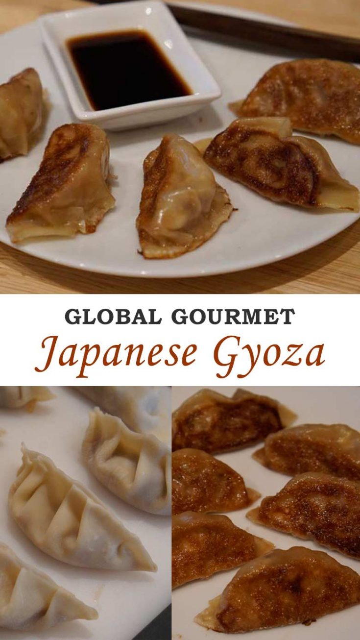 Japanese Gyoza is the perfect handheld snack. Learn how to make them at home. | Japanese Dish | Appetizers #gyoza #potstickers
