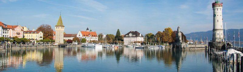 Lindau, Germany on Lake Constance