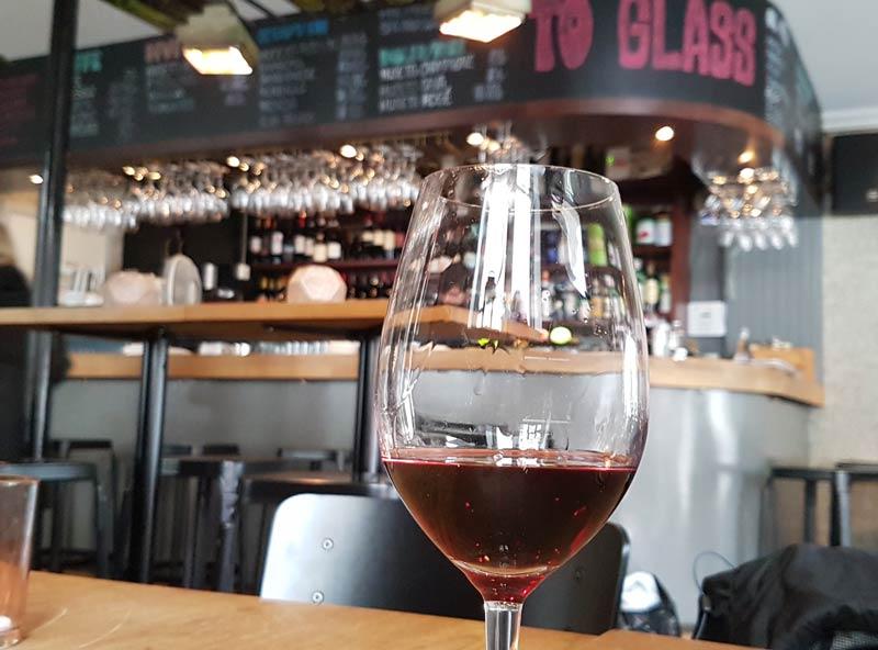 wine bar in Bergen