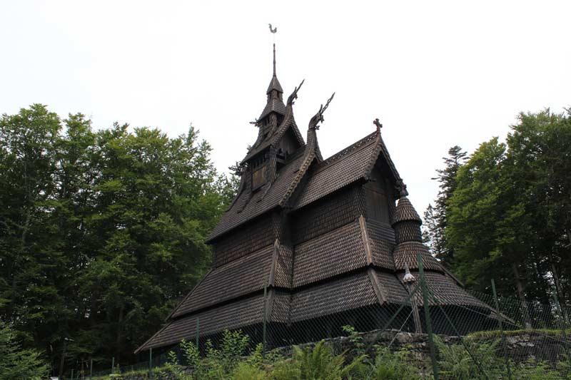 wooden church in Bergen