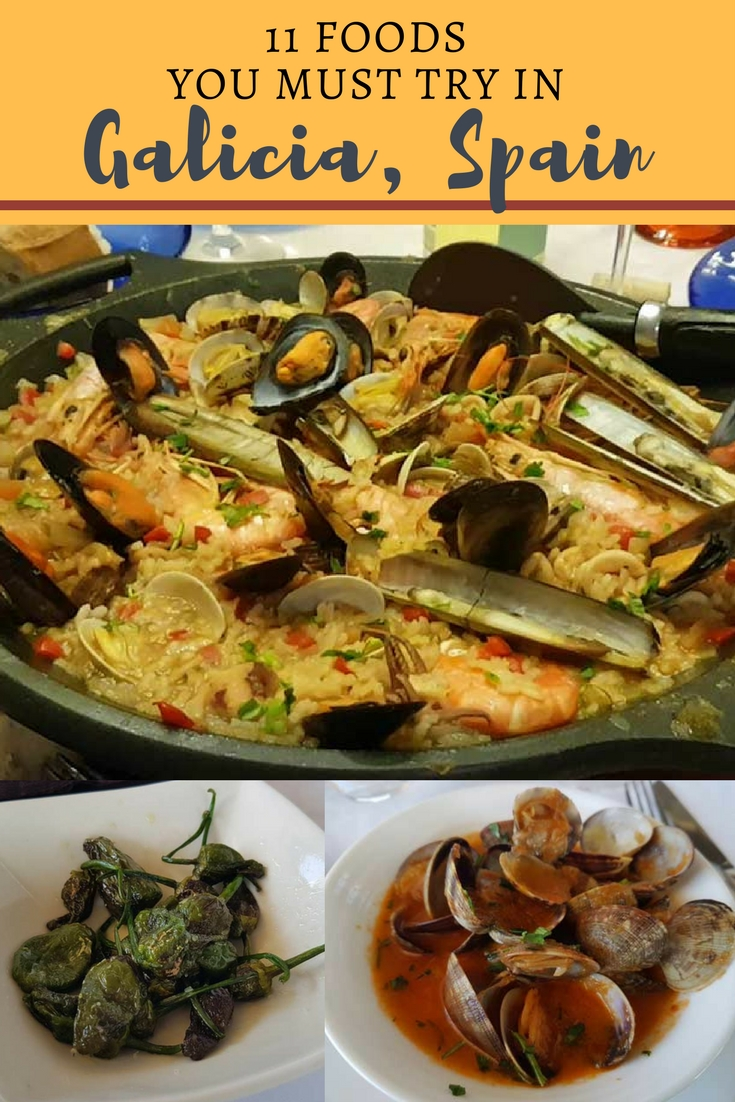 Here are 11 delicious foods to try in Galacia, Spain