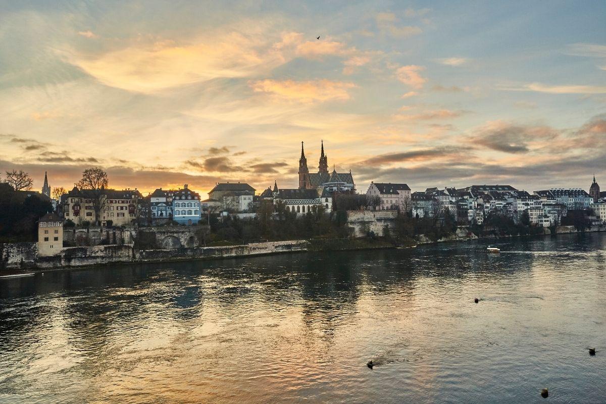 Basel Switzerland Waterfront