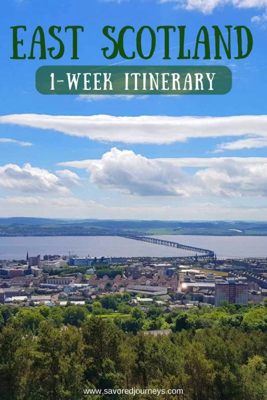 Want to take a roadtrip in Scotland? Use our exciting 1-week East Scotland itinerary