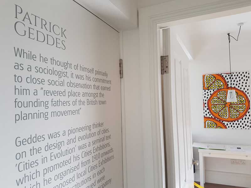 Patrick Geddes services apartment at Urban Quarters in Dundee