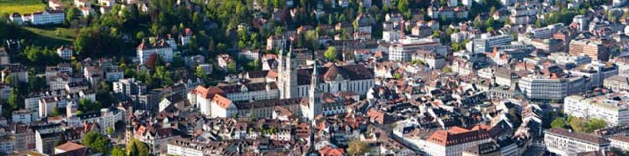 St Gallen from above