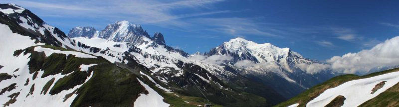 Mont Blanc - destinations in the French Alps