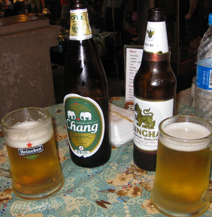 Beer in Thailand
