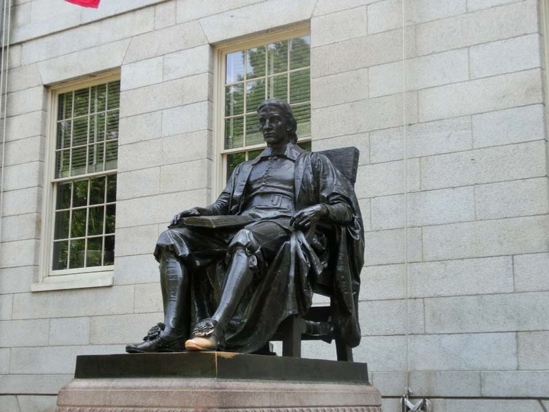 Boston's historical statues