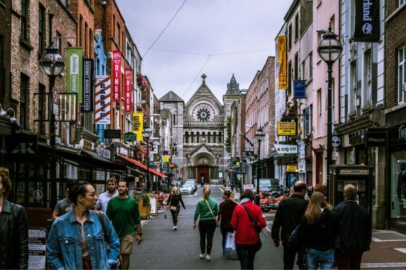Dublin from the street