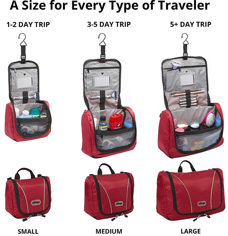 106ed281e35 Best Toiletry Bags for Travel 2019 | Savored Journeys