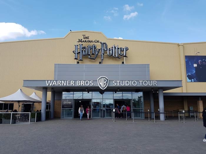 Entrance to the Magic of Harry Potter tour