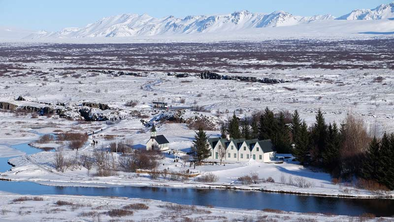 Iceland is the perfect winter scene for Game of Thrones