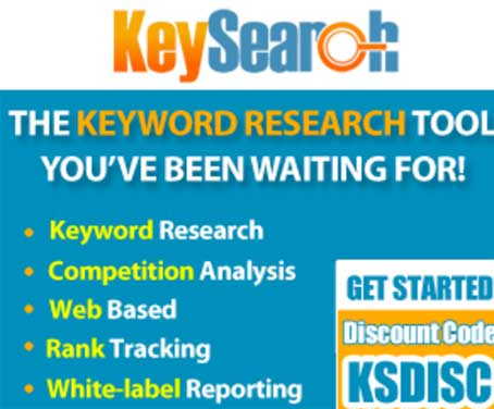 Use Keysearch for keyword research
