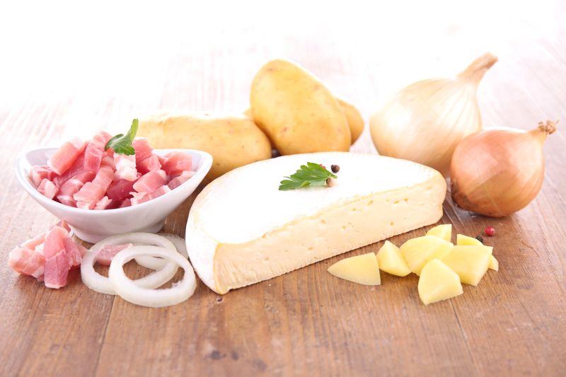 ingredients in tartiflette