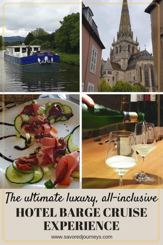 The ultimate luxury all-inclusive hotel barge cruise experience