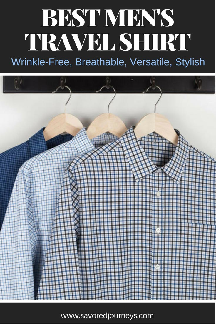 Looking for the best men's travel shirt that's comfortable and versatile? Check out this Bluffworks shirt. It's the best we've found.