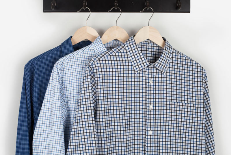 Bluffworks performance dress shirt, the perfect wrinkle free travel shirt