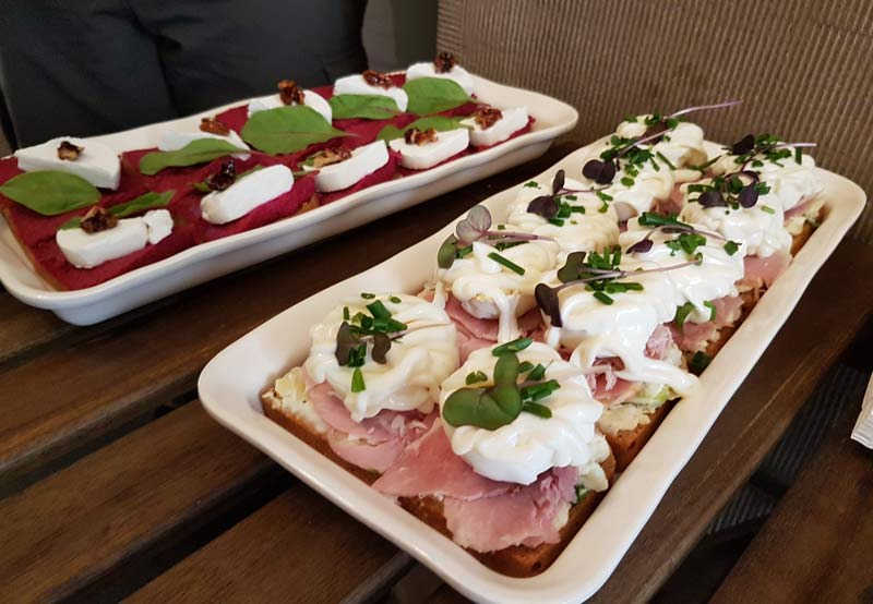 Eating Prague Food Tour - open-faced sandwiches
