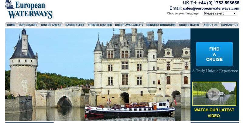 European Waterways website