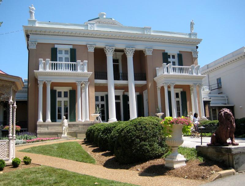 Belmont Mansion in Nashville, Tennesee
