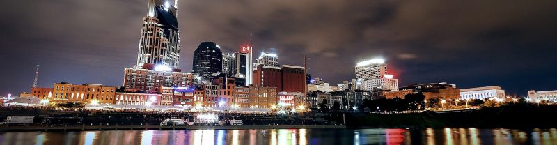 Nashville, Tennesee skyline
