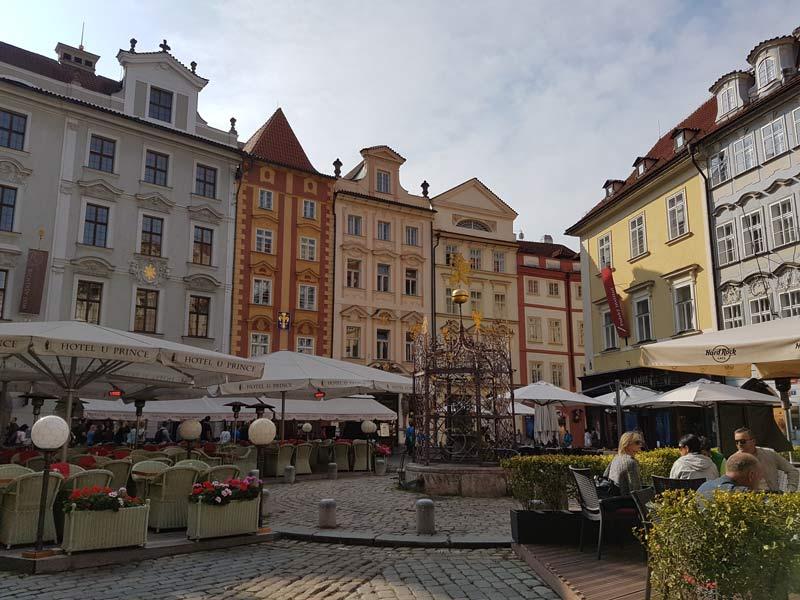 Prague's charming streets