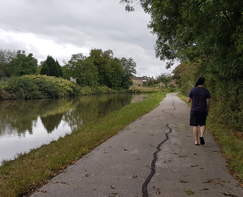 Walking the canal