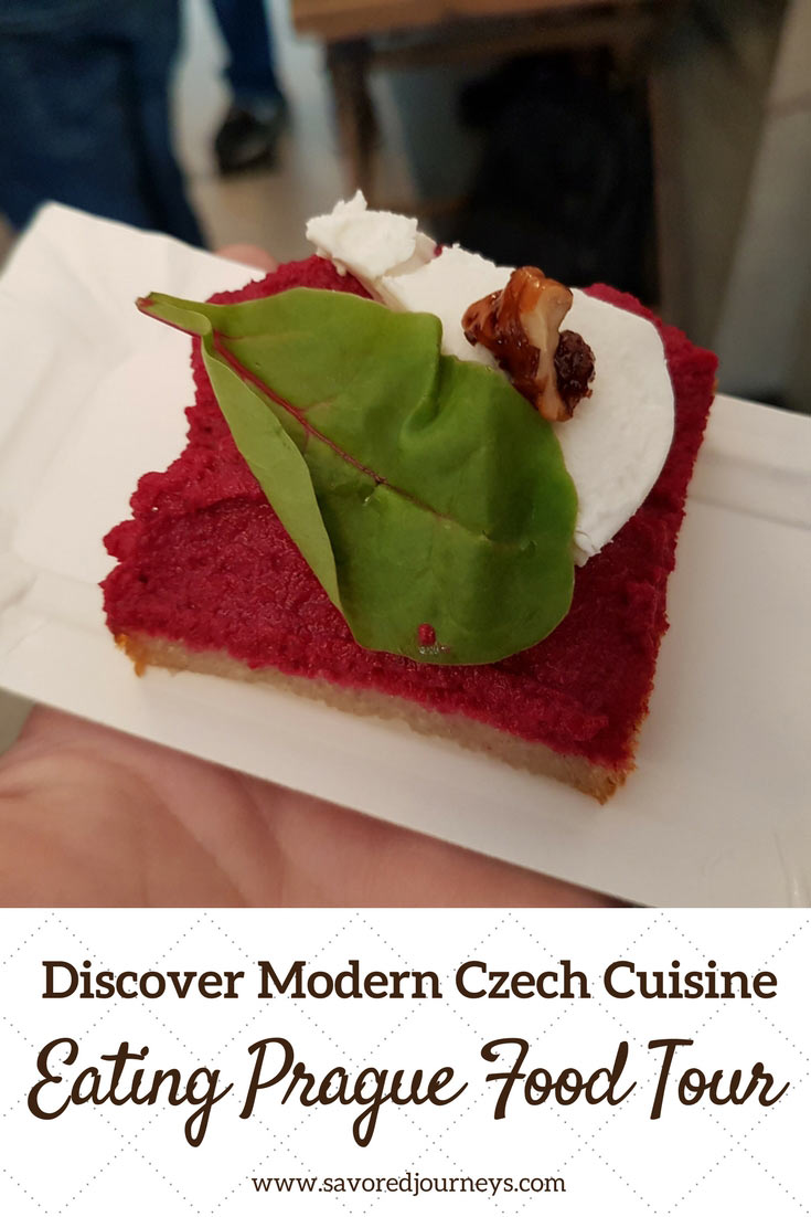 Discover modern versions of Czech's traditional food on an Eating Prague Food Tour