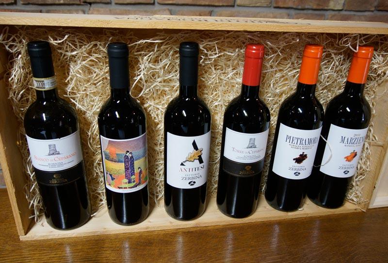 Fattoria Zerbina wines