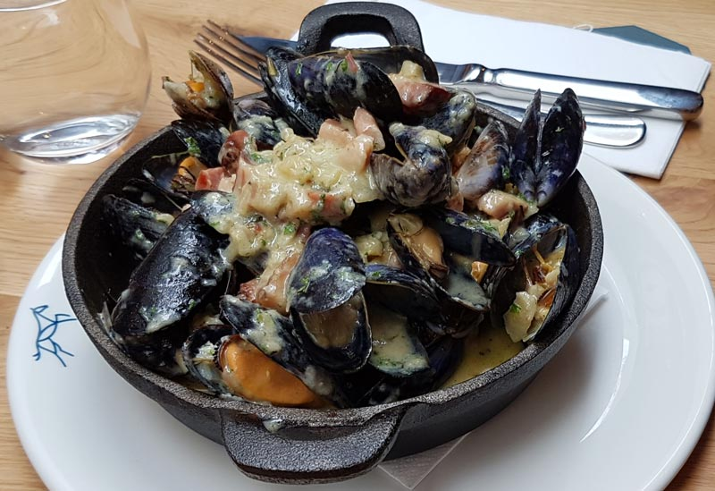 Mussels at Mikey Ryan's Gastro Pub in Cashel