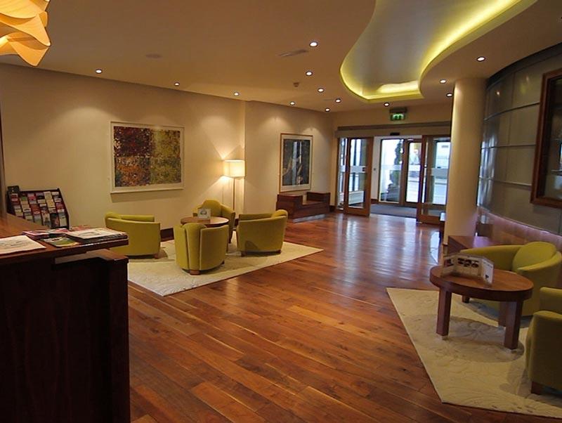 Pembroke Hotel lobby in Kilkenny