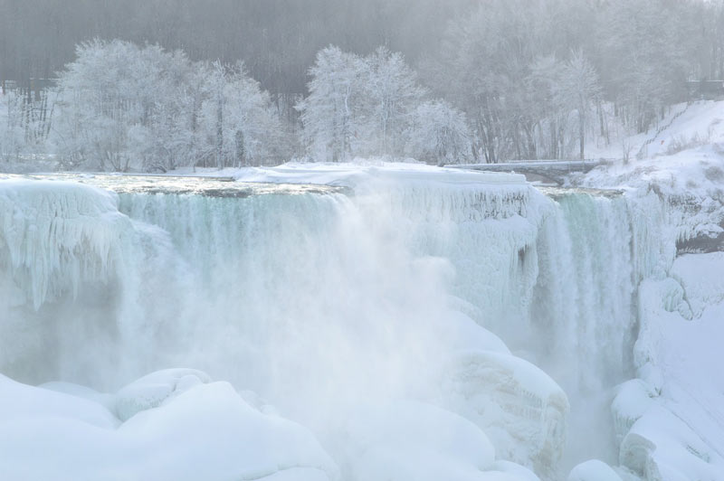 American Falls in Winter