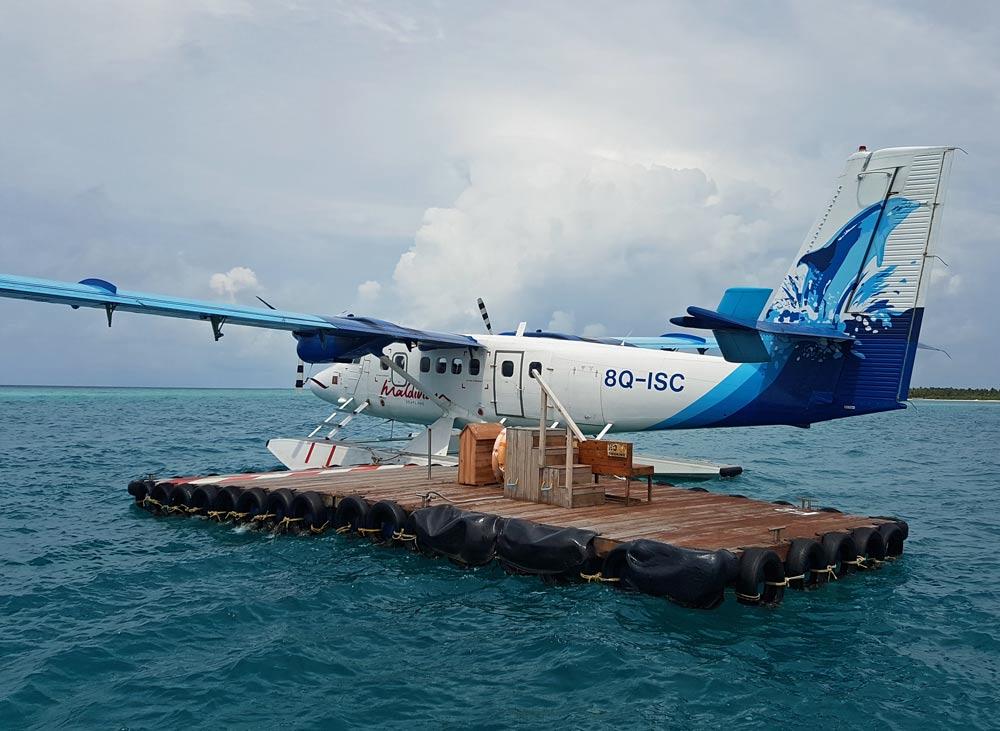 Maldives Air seaplane
