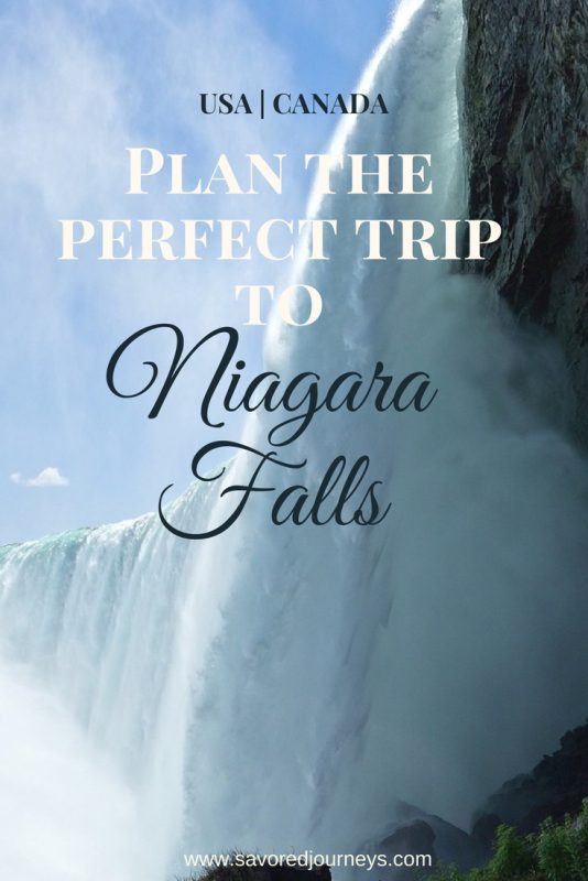 Here's how to plan your trip to Niagara Falls in either Canada or the USA