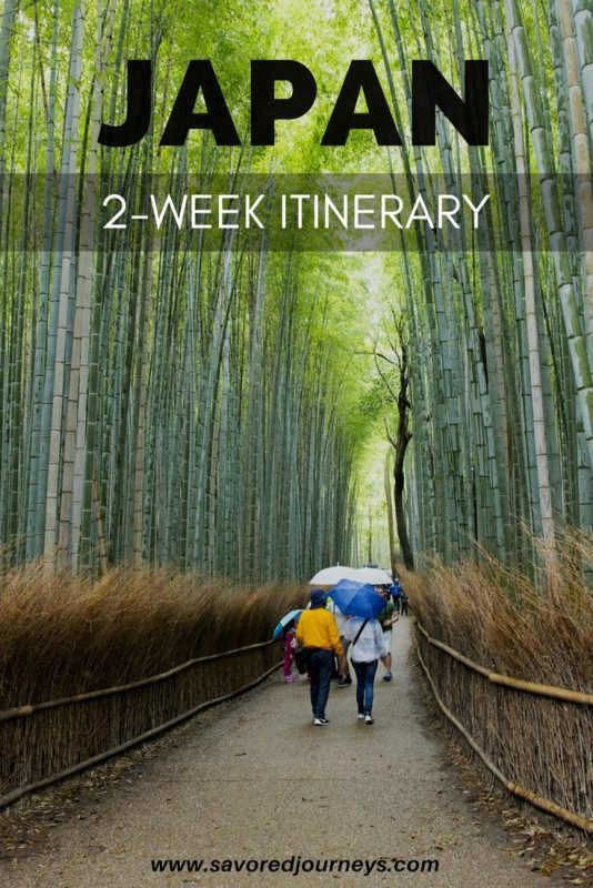 How to spend 2 weeks in Japan