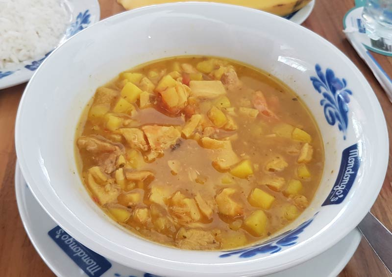 Mondongo soup