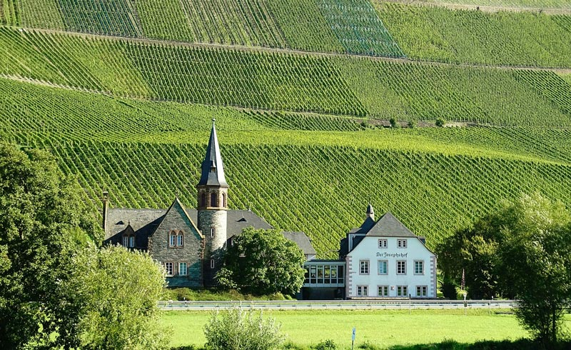 Mosel Valley in Germany