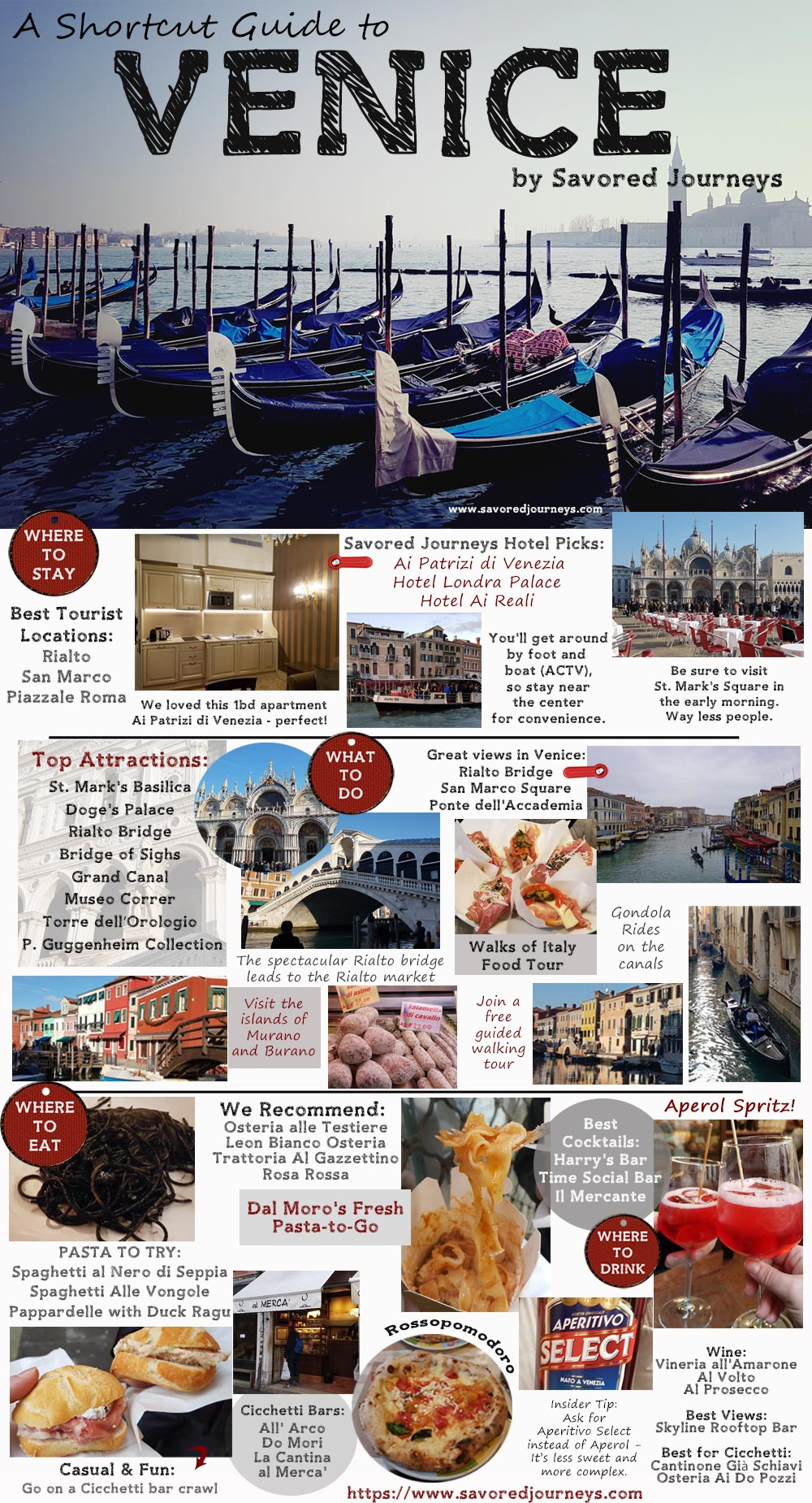 Shortcut Travel Guide to Venice, Italy. An enchanting and wonderful city on the water