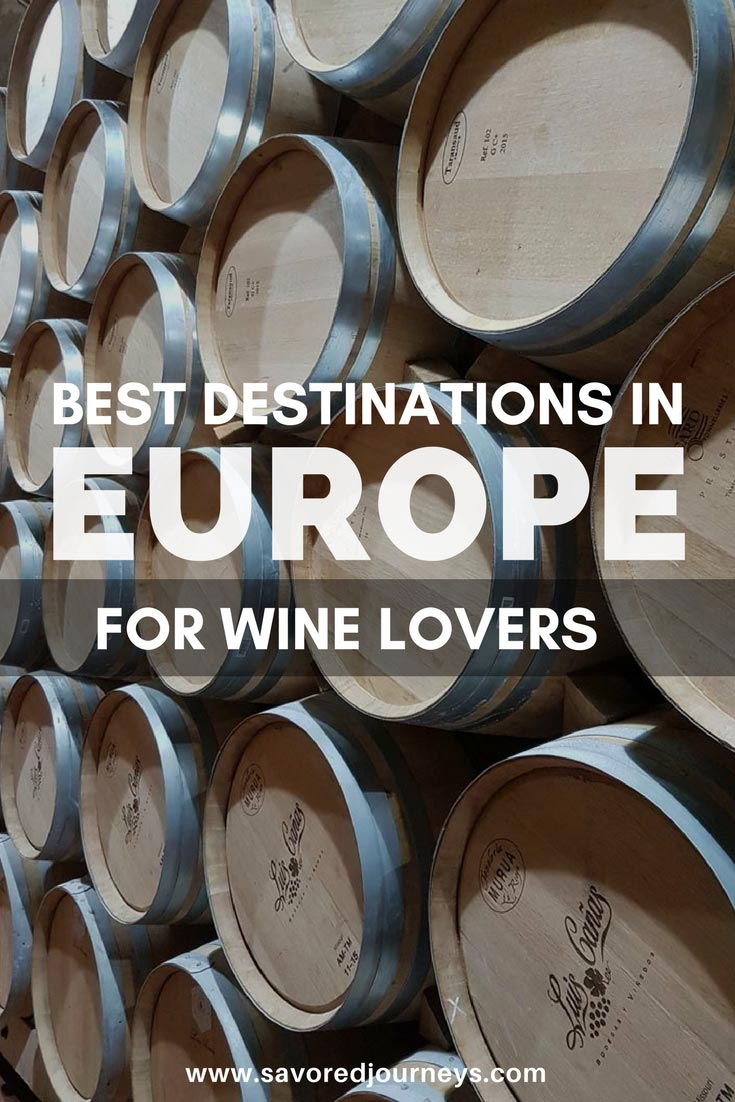 15 best wine regions in Europe for wine lovers