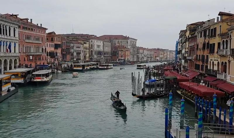 Gondolas are a beloved part of Venice