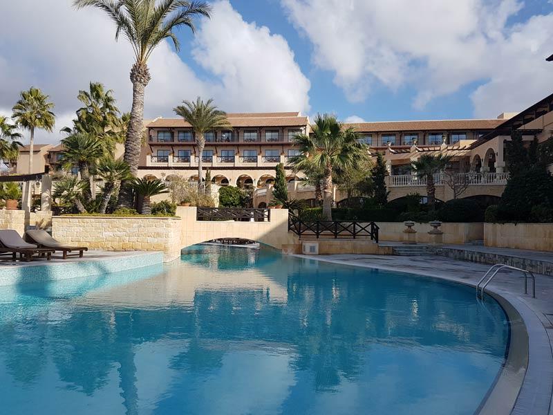 Elysium resort's beautiful pool