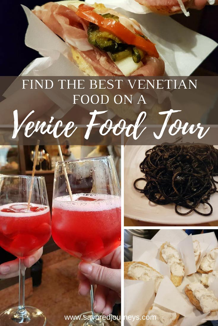 Find the best Venetian food on a Venice Food Tour