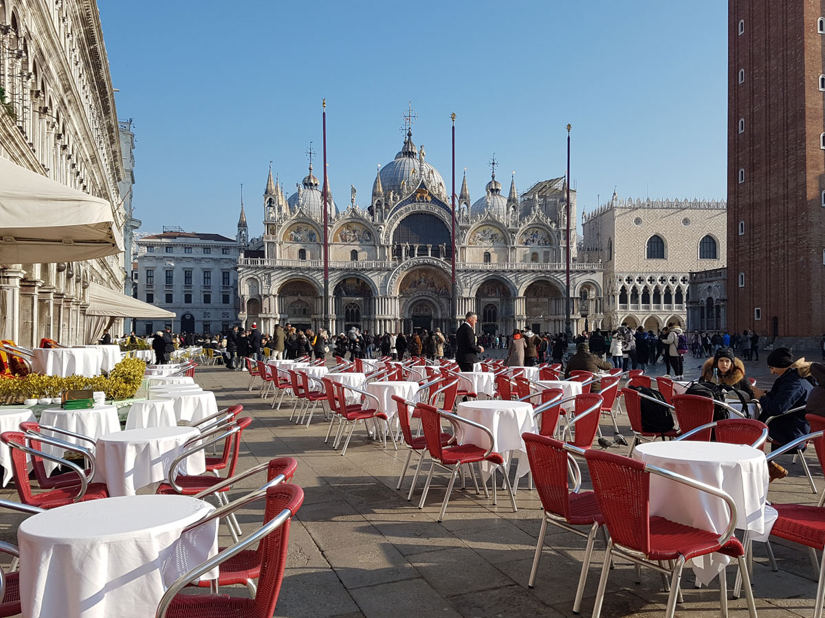 Restaurant in St. Mark's Square