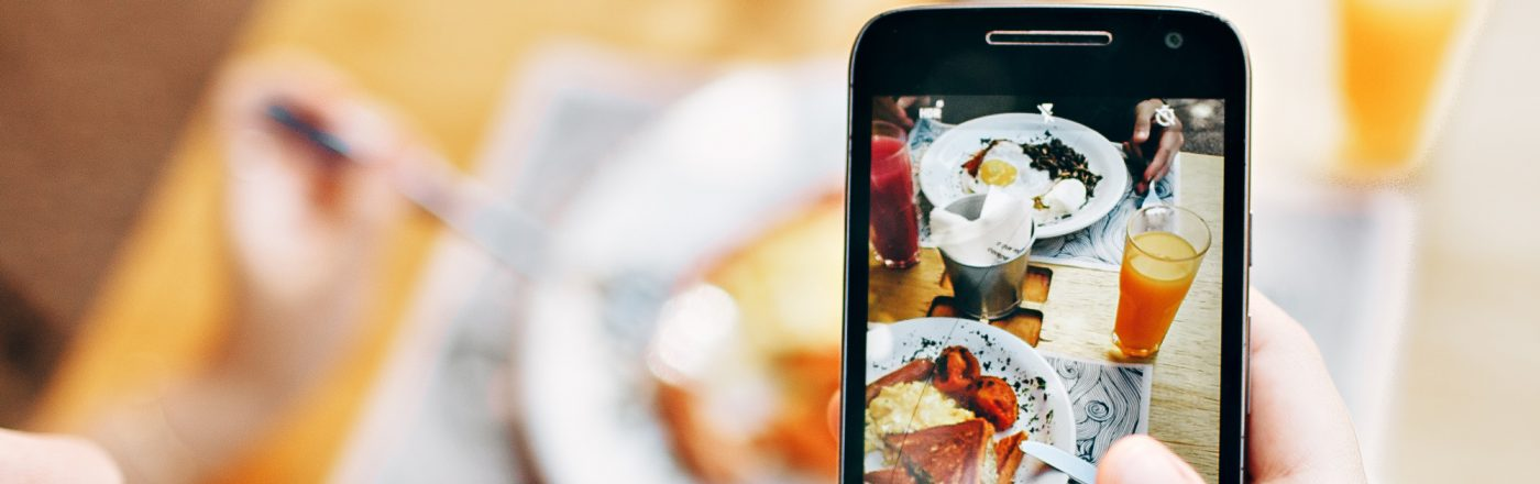 Taking food photos with your phone