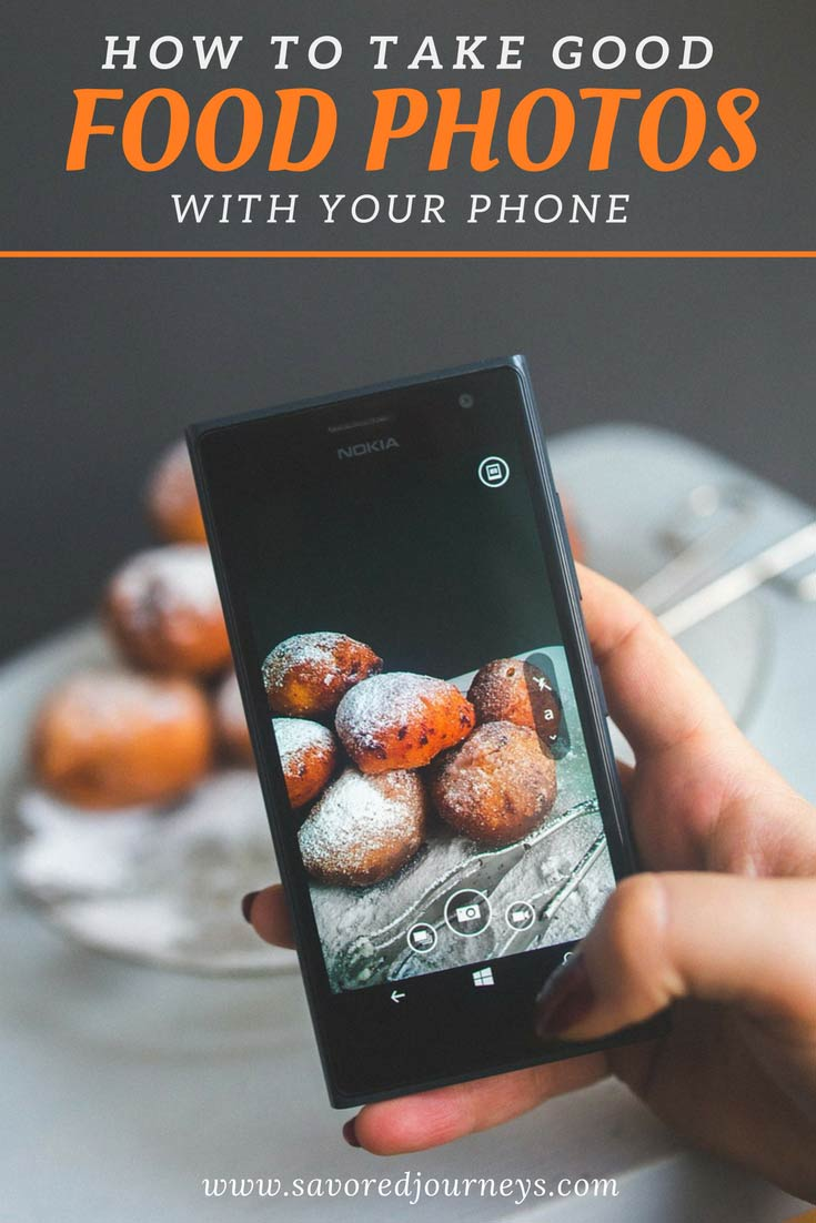 Learn how to take good food photos with your phone