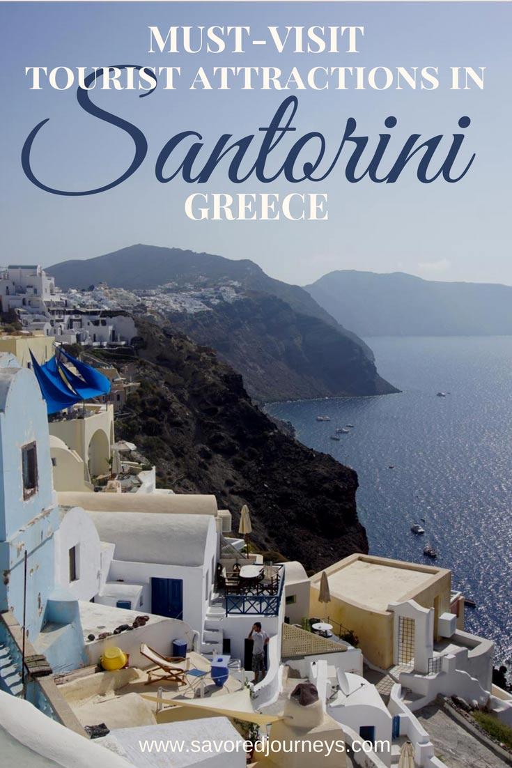 Must-Visit Tourist Attractions in Santorini Greece