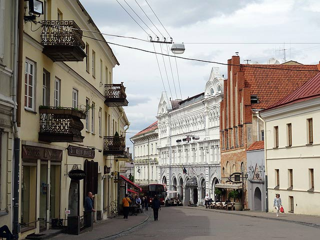 Vilnius town center